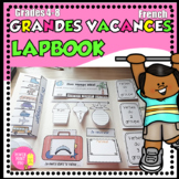 Vacances d'été - French Summer Activities LAPBOOK / foldable, printables