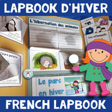 French Winter Activities Lapbook | French HIVER français | pour l'hiver