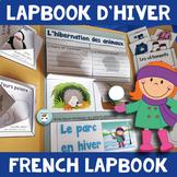 French Winter Activities Lapbook | French HIVER français | pour l'hiver