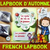 Automne | Lapbook d'automne French Fall Lapbook | Vocabulaire automne