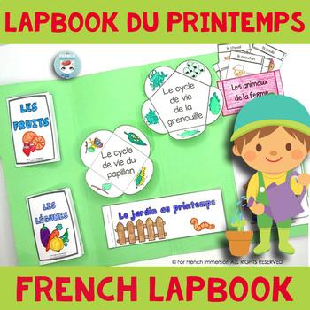 French Spring Lapbook  Lapbook du Printemps