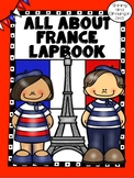Lapbook for the Country of France - Research Project