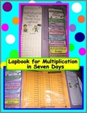 Lapbook for Multiplication in 7 Days
