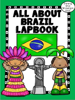 Lapbook for the Country of Brazil - Research Project