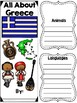 Lapbook for the Country of Greece -  Research Project