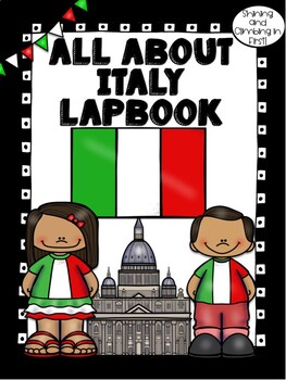 Lapbook for the Country of Italy Research Project