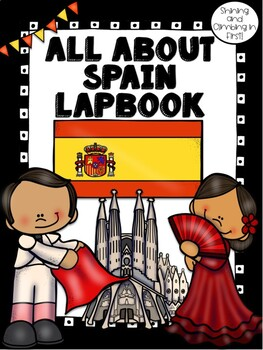 Lapbook for the Country of Spain Research Project
