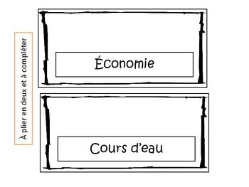 Lapbook provinces et territoires canadiens - 3e cycle