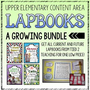 Lapbooks Growing Bundle