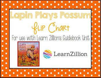 Lapin Plays Possum Lessons 20-25 Flipchart