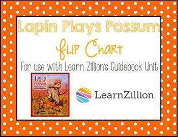 Lapin Plays Possum Lessons 30-31 Flipchart