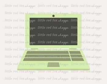 Laptop Clipart; Computer, Screen