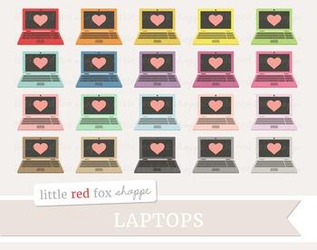 Laptop Clipart; Computer