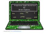 Laptop Preprimer Sight Word Hunt