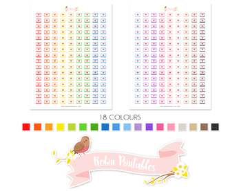 Laptop Printable Planner Stickers