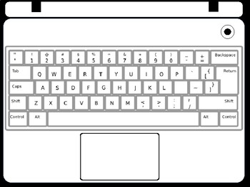 Laptop Printables By Teacher S Brain Cindy Martin Tpt