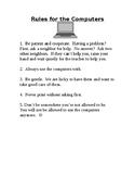 Laptop Rules