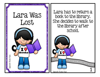 Lara Was Lost: Interactive Story and Comprehension Activities
