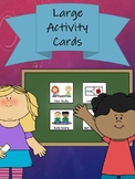 Large Activity Cards