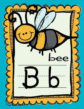 Large Alphabet Cards (Mini-dots)