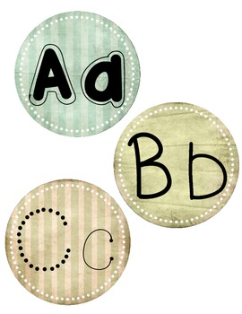 Large Alphabet Letters for Word Wall