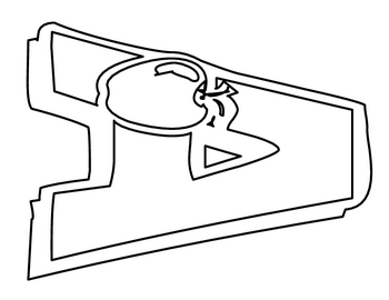 Large Alphabet Letters for coloring and/or assembly