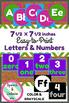 Large Alphabet & Number Printables for Bulletin Boards or Decor