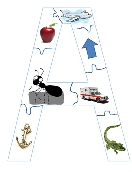 Large Alphabet Puzzles