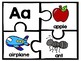 Large Alphabet Puzzles with Beginning Sound Pictures