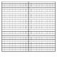 Large Bead Frame Worksheet (Introduction)
