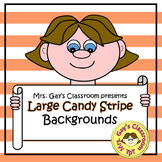 Large Candy Stripe Backgrounds