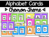 Chevron Alphabet Cards LARGE