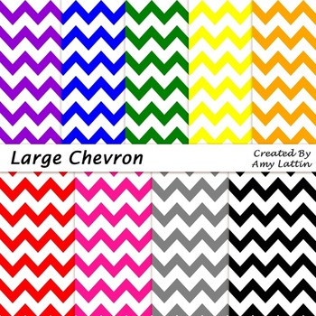 Large Chevron Papers