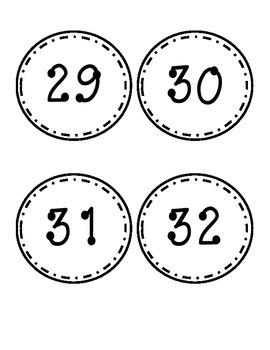Large Number Labels