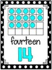 Large Classroom Posters {Simple Black & White Dots}