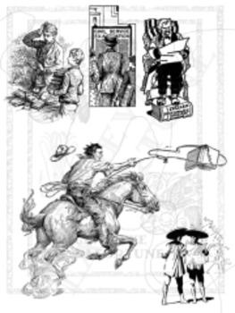 Large Collection of Reading Clipart  - 75 charming pictures