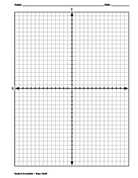 Coordinate Planes and Dot Papers
