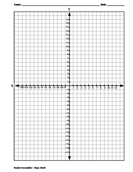 Coordinate Planes And Dot Papers By Maya Khalil Tpt