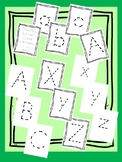 Alphabet Large Print Tracing (Capital & Lower Case) Visually Impaired Bundle