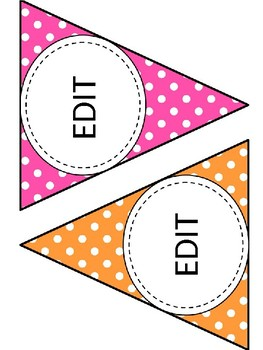 Editable Large and Small Banner