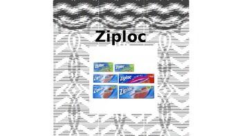 Large Editable School Supply Labels B&W Chevron (black and white)