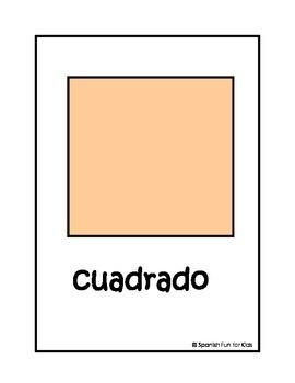 Large Flash Cards: Las formas (shapes)