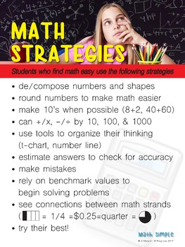 Math Simple - Ten Things That Make Math Simple (large format)