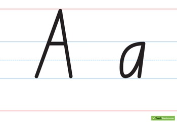 Large Handwriting Charts – Capital & Lower Case - New Sout