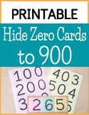 Large Hide Zero Cards to a Hundred