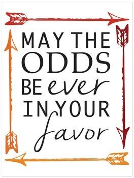 Large Hunger Games Poster
