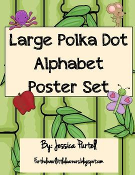 Large Jungle Alphabet Poster Set
