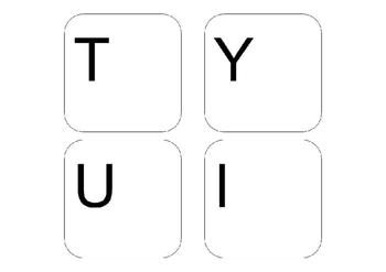 Large Keyboard Keys