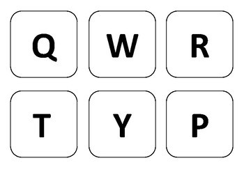 Large Keyboard for Bulletin Board