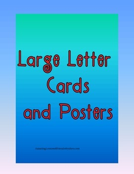 Large Letter Cards and Posters